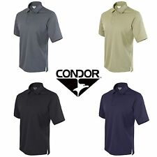 Condor Tactical Performance Polo Collar 100% Polyester Shirt 101060 All Colors
