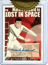 LOST IN SPACE ARCHIVES SERIES 2 CHARACTER ART MARK GODDARD AS DON WEST AUTOGRAPH