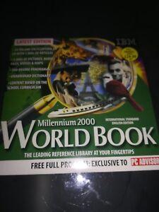 Millennium 2000 world book Pc Cd Rom - Disc