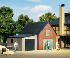 Auhagen 11408 - H0 Kit de montage - Hangar de stockage avec Garage