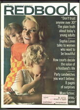 REDBOOK magazine J 1967 SOPHIA LOREN-Sweepstakes-FICTION STORIES-Party Sandwich
