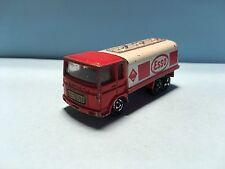 Diecast Majorette Saviem Esso Truck 1/100 Red/White Wear & Tear Used Condition