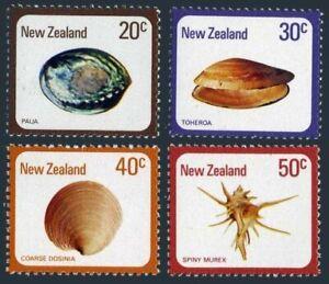 New Zealand 674-677, hinged. Michel 760-763. Sea Shells 1978.