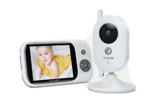 Victure Video Baby Monitor BM32 50% RRP: £78.99 - Box Opened Otherwise Brand New