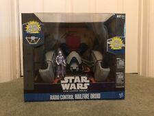 EXCLUSIVE Star Wars The Clone Wars Radio Control Hailfire Droid w' Clone Trooper