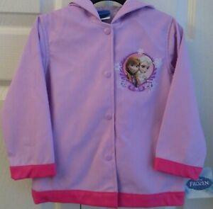 Disney Frozen Elsa Raincoat Toddler 2T