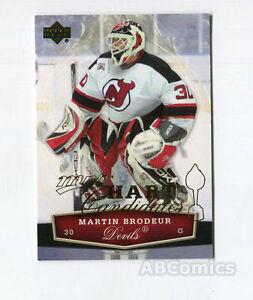 Paket 10 Karten Martin Brodeur NHL Hockey New Jersey Devils