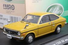 Ebbro 43177 1:43 Nissan Datsun Sunny Coupe 1200 GX 1970 Diecast Model Car Brown