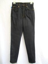 VTG..HIGH WAISTED..TAPERED/ SKINNY..SNUG FIT..DENIM..JEANS..NEW OLD STOCK..sz 6