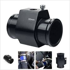 Car Black 32MM Water Temp Temperature Gauge Joint Pipe Sensor Radiator Adaptor