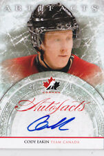 12-13 Artifacts Cody Eakin Auto Autofacts Team Canada 2012