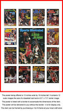 Michael Jordan Career Sports Illustrated Cover Collection Poster