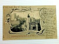 Vintage Postcard 1904 Broadway Looking South NY New York City