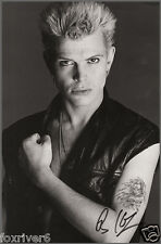 BILLY IDOL Signed Photograph - Rock Singer / Punk / Generation X preprint