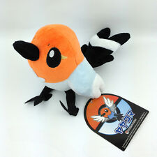 """Fletchling Pokemon XY Yayakoma Bird Flying Type Plush Toy Stuffed Animal Soft 6"""""""