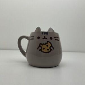 Pusheen Grey Ceramic Cat Mug Cookie Design 2019 Novelty Mug