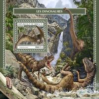 Djibouti Dinosaurs Stamps 2017 MNH Pterodactyl Prehistoric Animals 1v S/S
