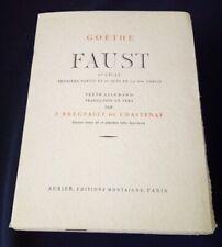 Faust de Goethe illustré par Delacroix - un des 60 sur Japon