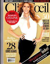 Celine Dion Rare Clioeil Magazine With Free Vegas Flyer