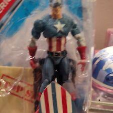 """Marvel Legends Captain America 4.5"""" Figure. Includes classified file with secret"""