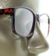 Reading Glasses Square Eyes Readers Bold Tortoise Brown Frame +2.00 Lens