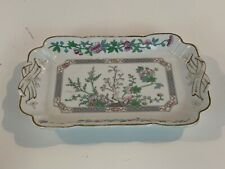 Antique Lamberton China Porcelain Floral Painted Serving Tray