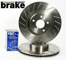 Honda S2000 Front Grooved Brake Discs and EBC Bluestuff Pads