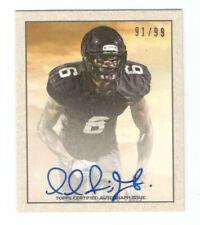 Topps NFL Paul Richardson Auto #/99 Card Draft Rookie Seahawks Signed Autograph