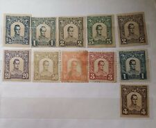 A good collection of 11 mint stamps of  Colombia Antioquia USA in 1899