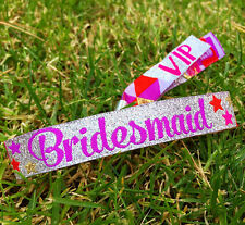 Bridesmaid Hen Party Wristband / Bridesmaid Accessories & Gifts