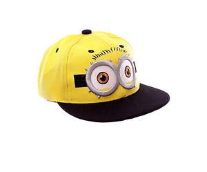 Minion Cap - Kids Cap - Minion Hat - Minion Themed Baseball Cap