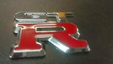 999AUTOSHOP - 3D ALUMINIUM / PLASTIC BADGE FOR GTR RB26DETT SKYLINE R32 R33 R34