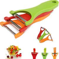 3x Vegetable Peeler Slicer Cutter New Hot