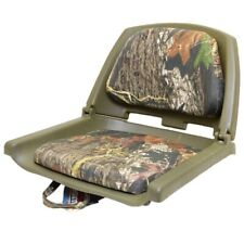 Wise Seating Camouflage Fabric Marine Boat Folding Fishing Seat Chair 50012521