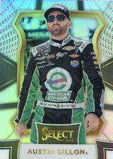 2017 PANINI SELECT RACING NASCAR SILVER PRIZM PARALLEL AUSTIN DILLON NO. 63
