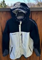 Columbia Nylon Anorak Style Packable Jacket Full Zip Windbreaker RN69724 Mens L