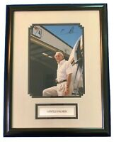 ARNOLD PALMER Original Signed Autographed Original 18x14 Framed Photo COA Cert
