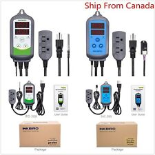 Inkbird Digital Temp Control thermostat ITC308 + Humidistat Control IHC200 110v