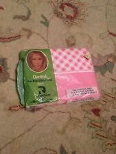 vintage twin flat sheet pink gingham Dantrel
