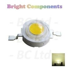 5 x 1W Warm White Power LED - Ultra Bright - 5 Pack - 1st CLASS POST