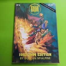 More details for the comic book price guide update for great britain no. 2 1993 /1994 mcalpine