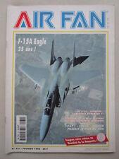AIR FAN 231 EC 3/33 LORRAINE RAF TRAINING MCDONNELL DOUGLAS F-15 EAGLE BELL XS-1