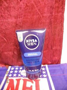 Nivea Men Original Moisturizing Face Wash 5 oz / 150 ml