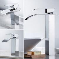 Cascade robinets chute salle de bain lavabo comptoir articles évier haut chrome