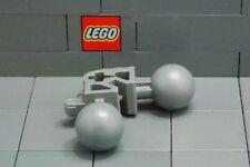 LEGO: Technic Connector 1 x 3 Bent w/2 Ball Jts & Axlehole (#47300) DkStone x 4*