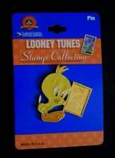 """""""Looney Tunes Stamp Collection - Tweety Bird,"""" Metal Lapel Pin, New, Made Usa"""