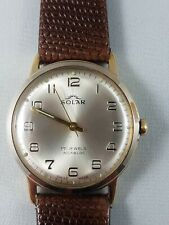 Solar Vintage watch men's, working, nice collector watch !