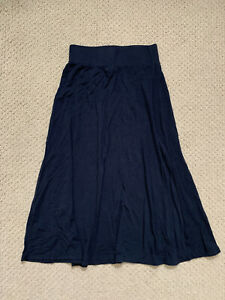 Girls Long Black Skirt - Size 6/6X