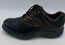 New listing Footjoy Greenjoys 455564 Men's Size 10.5 W Black Brown Golf Shoes Worn 1 X