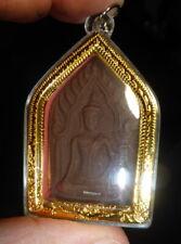 LP TIM PHRA KHUN PAEN BUDDHA AMULET 1 TAKRUT FROM THAILAND WATERPROOF CASE